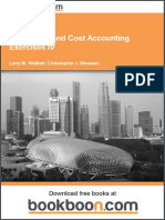Managerial and Cost Accounting Exercises IV