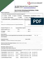 CRP Referral Form 2016 Monash Heart V5