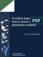 El conflicto árabe-palestino. Entre el racismo como globalización neoliberal.