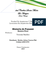 Trabajo Historia de Panamá