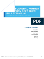 ID3a99ceaa8-1996 am general hummer accessory belt idler pulley manual