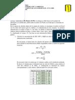 Cálculos cinética