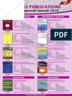 UGC Approved - Journals - Catalogue 2018 - New