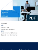 Hybrid Cloud Management and Security - Automation and Security
