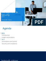 Hybrid Cloud Management and Security - Introduction and Analytics