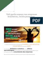 Investimento T&D no Brasil
