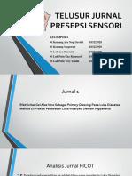 Telusur Jurnal Presepsi Sensori