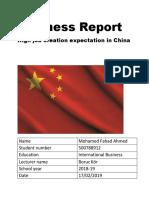 Final Business Report
