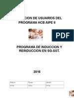 Programa de Inducion y Reinduccion