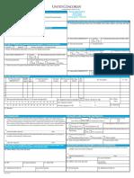UCCI Claim Form