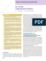 Vaccination of the Immunocompromised Patient