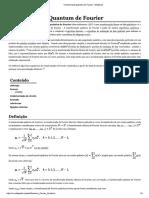 Transformada Quântica de Fourier - Wikipedia