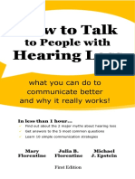 Excerpts from How to Talk With People With Hearing Loss