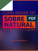 eBook Como Andar No Sobrenatural 2019