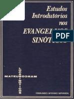 Estudos Introdutórios nos Evangelhos Sinóticos - Osmundo Afonso Miranda -Cultura Cristã.pdf