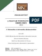 Program Matek 2012