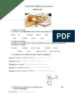 La Recette Des Crepes Vocabulaire Feuille Dexercices Trouver Les Mots Caches Unaun m 57122