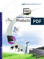 Catalogue Samwha Capacitor