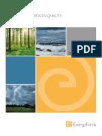 Analysis of Hydrogen Quality Energiforskrapport 2015 177