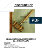 RITESH YADAV - Legal Duties