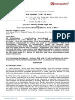 Sankari Prasad Singh Deo vs Union of India UOI As510013COM295635