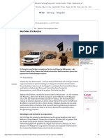 Rebellen-Fahrzeug Toyota-Hilux - Auf Der Pritsche