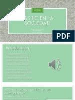 Las Tic en La Sociedad (Proyecto Integrador)
