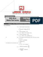 Made easy Mains test 5 solutions