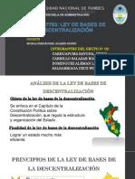 Ley de Bases de Descentralización