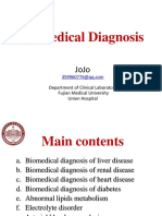 Biomedical Diagnosis