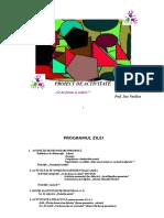Forme geometrice Plan de Lectie