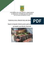 Tipuri de Depozite Folosite Pentru Păstrarea În Stare Proaspătă a Produselor Horticole