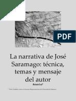 La Narrativa de José Saramago
