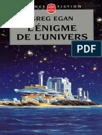 L'Enigme de l'Univers - Egan, Greg (1)