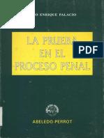 LA PRUEBA EN EL DERECHO PENAL de Lino Enrique Palacio PRACTICAS PENALES.pdf