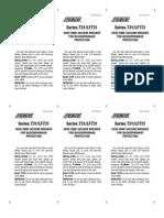Series 731 Installation Instructions
