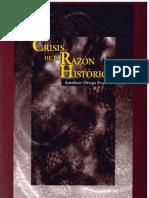 Crisis de La Razón Histórica