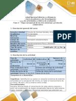 Guía de actividades y rúbrica de evaluación - Fase 2 - Mapa conceptual de los tres sistemas y protocolo colaborativo