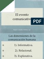 El Evento Comunicativo Sintético