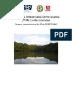 Proyectos Ambientales Universitarios Ganadores