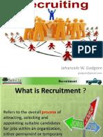 W. 4. Recruiting
