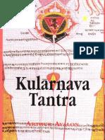 Arthur Avalon Kularnava Tantra  .pdf