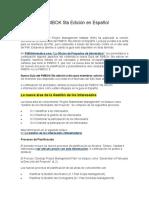 Cambios en La Guía Del PMBOK 5ta Edición en Español