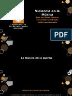 Violencia en la música.pptx