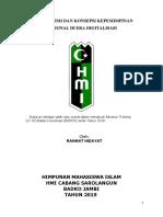 Refleksi Hmi Konsep Kepemimpinan Nasional Jurnal Lk3 Doni - Copy
