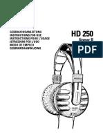 AKG HD250II