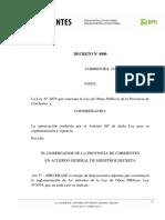 Decreto Reglamentario Nº 4800-72