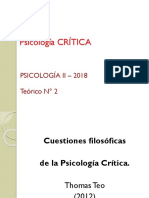 2018.Teórico 2 Psicología Crítica Fondo Blanco