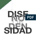 diseño de densidad notas