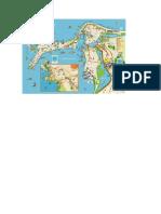 Mapa Detallado de Cartagena